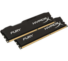 HyperX Fury Black 8GB (2x4GB) DDR4 2666