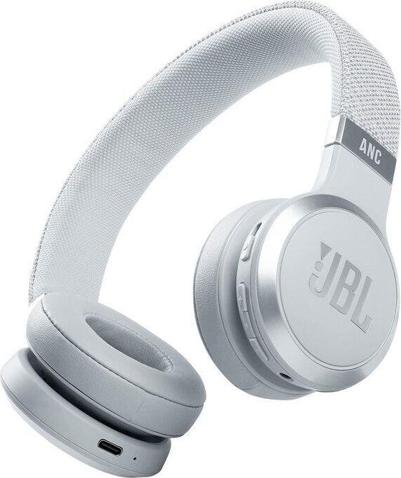 JBL Live 460NC, bílá