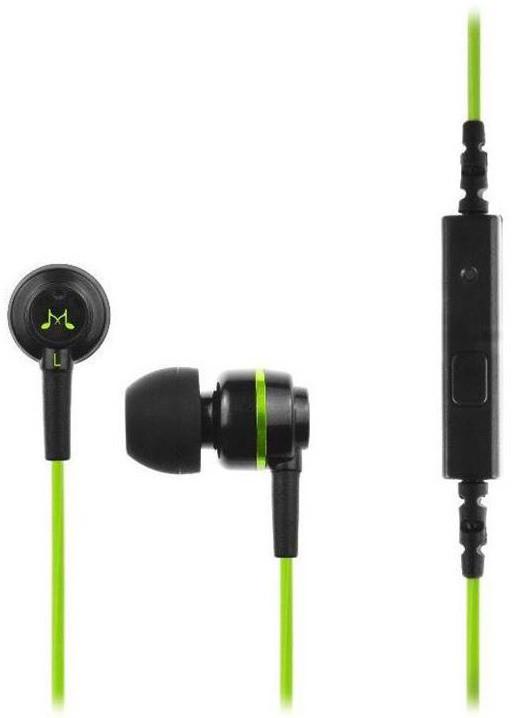 SoundMAGIC ES18S, černo-zelená