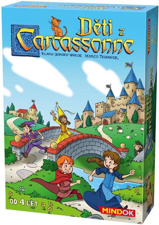 Desková hra Děti z Carcassonne