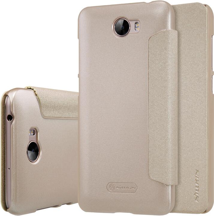 Nillkin Sparkle Folio pouzdro Gold pro Huawei Y5 II