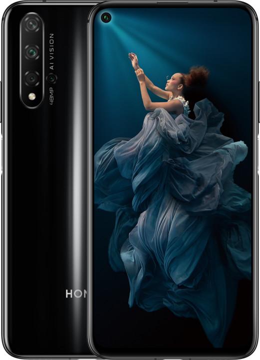 Honor 20, 6GB/128GB, černá