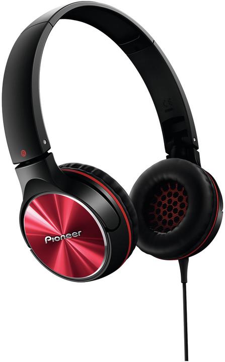 Pioneer SE-MJ532-R, černočervená