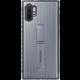 Samsung tvrzený ochranný zadní kryt se stojánkem pro Galaxy Note10+, stříbrná