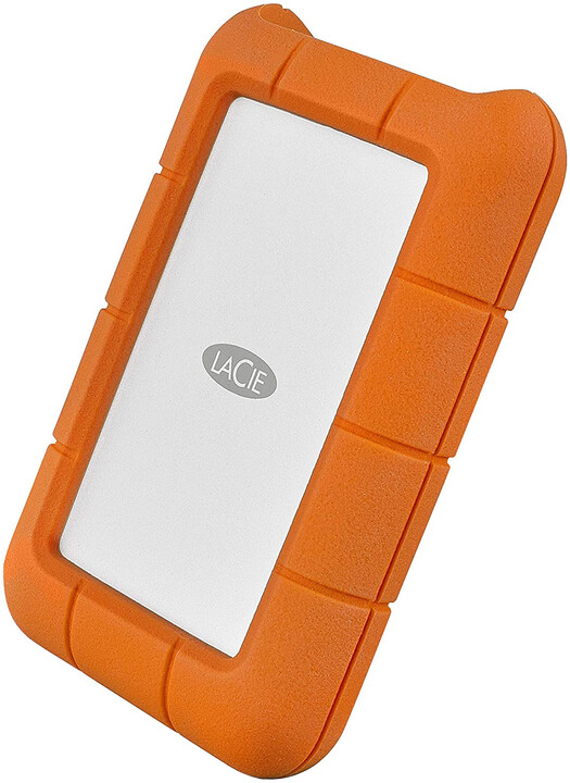 LaCie Rugged Thunderbolt - 4TB, oranžová