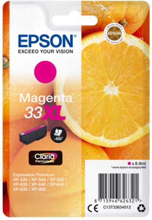 Epson Singlepack Magenta 33XL Claria Premium Ink
