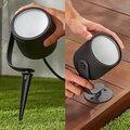 Philips Venkovní nástěnné svítidlo HUE Lily XL s adaptérem, LED, RGB, 15W, černá