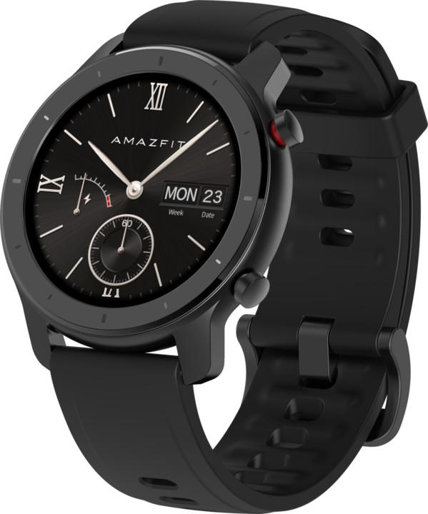 Amazfit GTR 42mm Black, černá