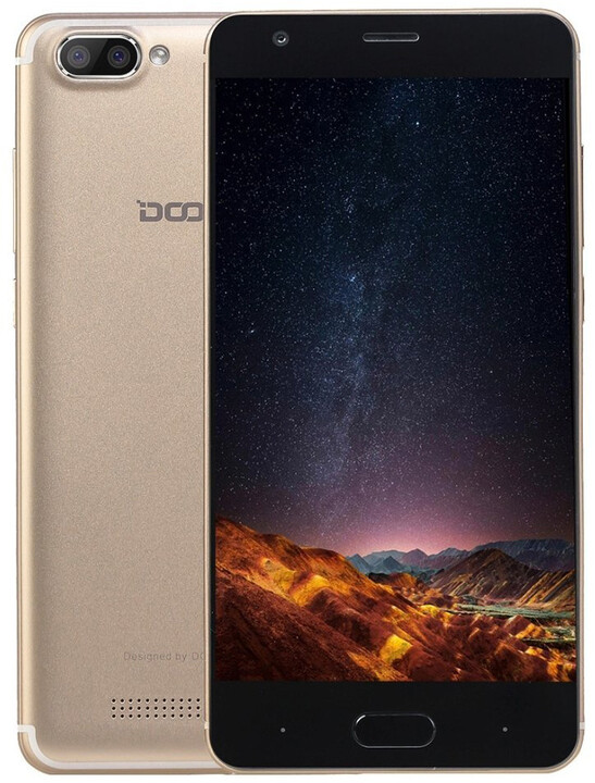 DOOGEE X20 - 16GB, zlatá