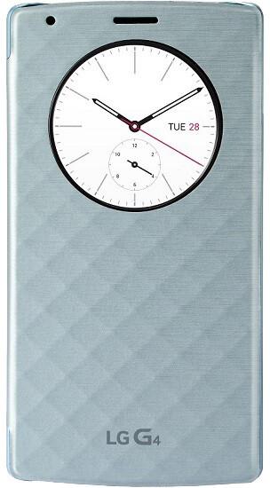 LG QuickCircle pouzdro CFR-100 pro LG G4, modrá