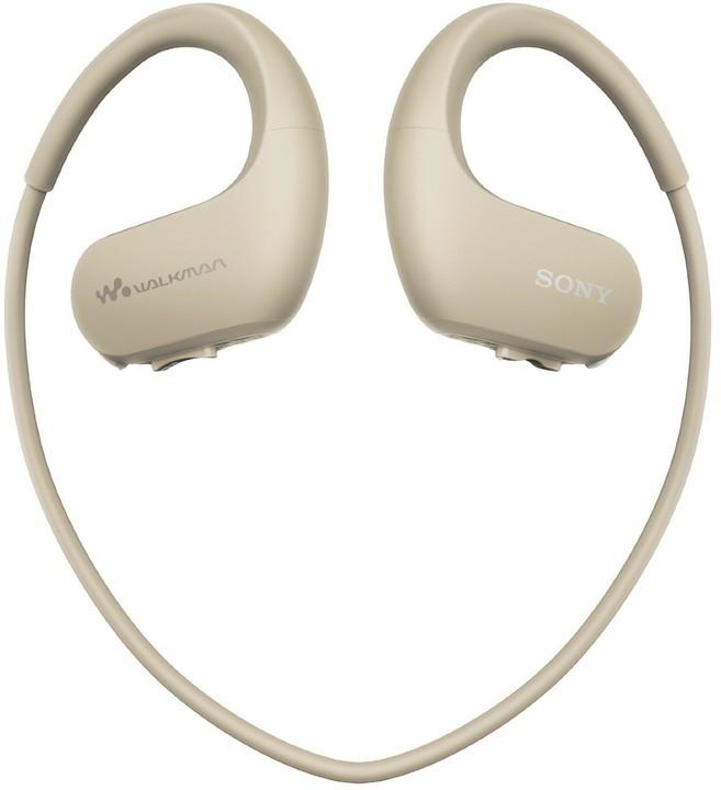 Sony NW-WS413, 4GB, šedá