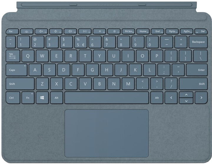 Microsoft Type Cover pro Surface Go, ENG, modrá