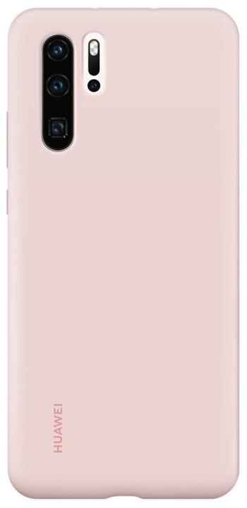 Huawei Original silikonové pouzdro pro P30 Pro, růžová