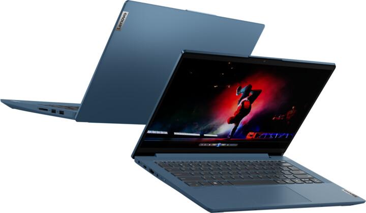 Lenovo IdeaPad 5-14IIL05, modrá