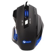 C-TECH Akantha, modré LED