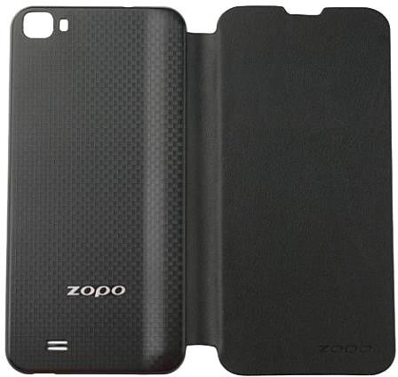 ZOPO Kožené Flipové pouzdro pro ZP980+, černá, bulk