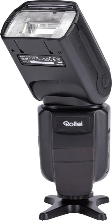 Rollei profesionální externí blesk 56/ pro kamery Canon/ Nikon