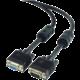 Gembird CABLEXPERT kabel prodlužovací mon 15M/15F VGA 9m stíněný extra, ferrity, černá