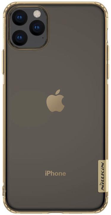Nillkin Nature TPU pouzdro pro iPhone 11 Pro Max, tawny