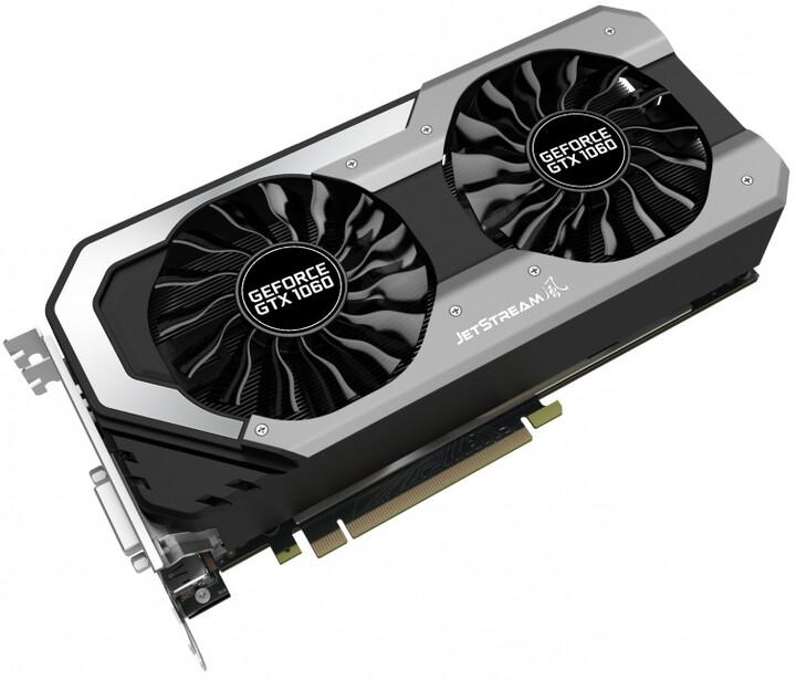 PALiT GeForce GTX 1060 Super JetStream, 3GB GDDR5