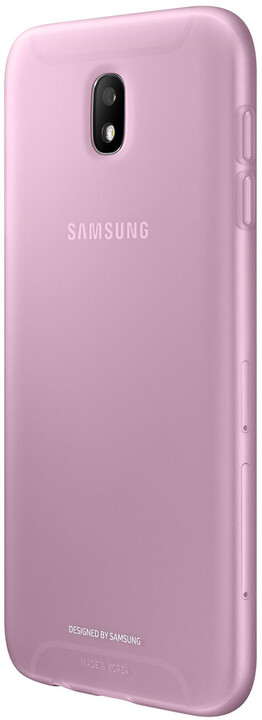 Samsung Jelly Cover J7 2017, pink