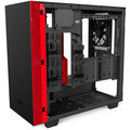 NZXT H400i, Matte Black/Red