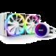 NZXT Kraken X53 RGB, bílá