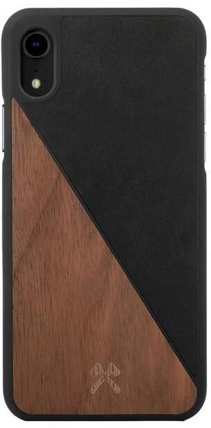 Woodcessories ochranné pouzdro Split pro iPhone Xr, Walnut