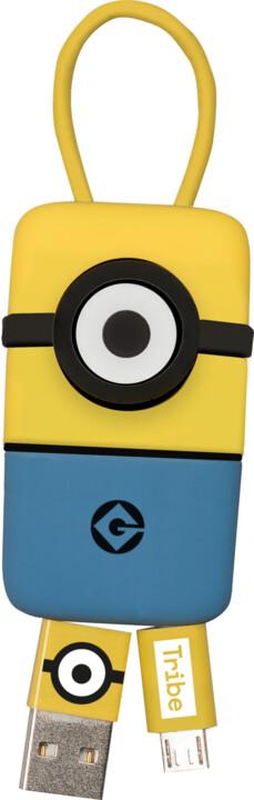 Tribe Minions Carl USB Keyline přívěšek na klíče (22cm) - Žlutý