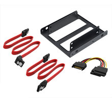 "Akasa adaptér pro 2,5"" HDD/SSD do 3,5"" vč. kabelů (AK-HDA-11)"
