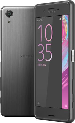 Sony Xperia X, grafitová černá