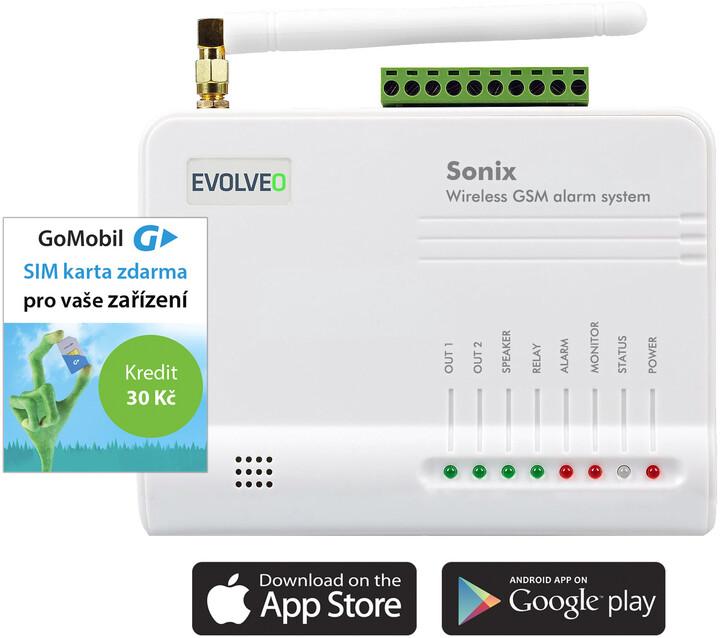Evolveo bezdrátový alarm Sonix - ALM301