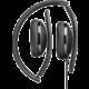 Sennheiser HD 2.20s, černá