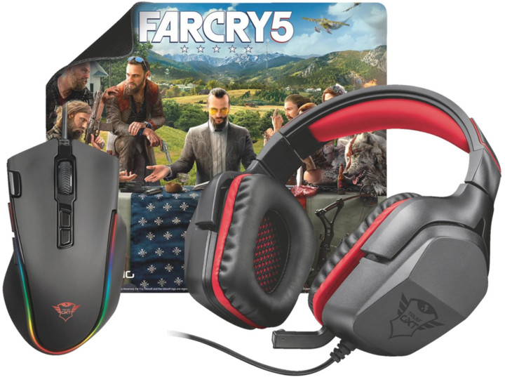 Trust GXT Gaming Bundle 3-in-1 + Far Cry 5