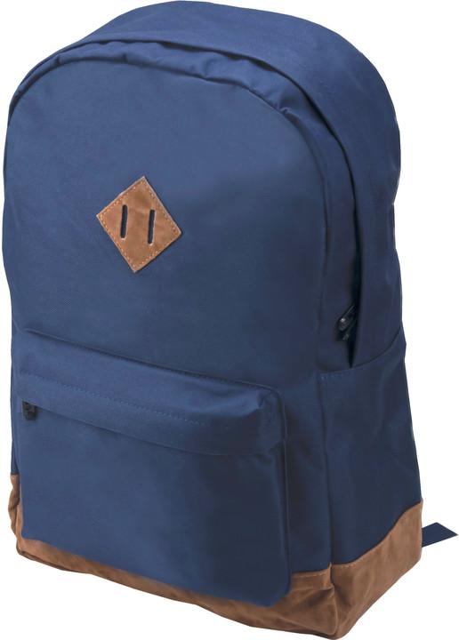 "CONTINENT batoh pro notebook BP-003/ 15-16""/ polyester/ modrý"