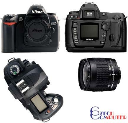 Nikon D70 + objektiv 18-70 AF-S DX
