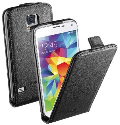 CellularLine Flap Essential pouzdro pro Galaxy S5, černá