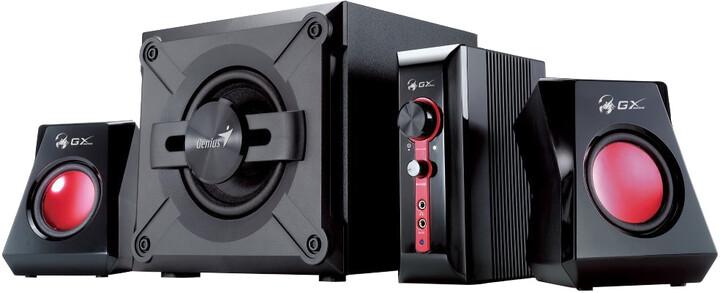 Genius GX GAMING SW-G2.1 1250 Ver. II, černé
