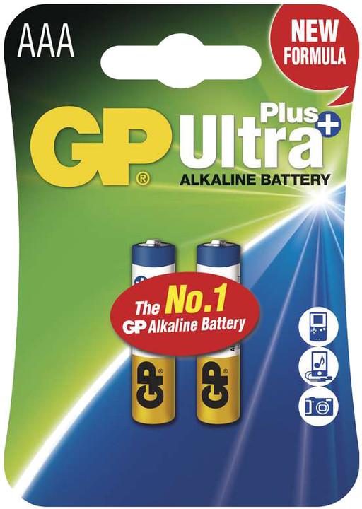 GP Ultra Plus, alkalická LR03, 2ks