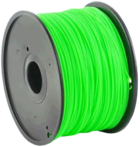 Gembird tisková struna (filament), ABS, 1,75mm, 0,6kg, zelená