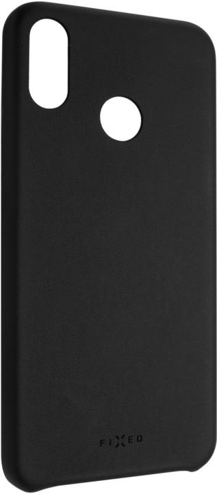 FIXED zadní kryt Tale pro Huawei Nova 3i, PU kůže, černá
