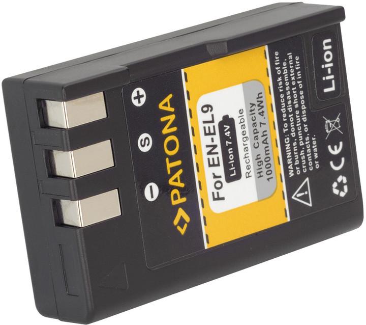 Patona baterie pro Nikon EN-EL9 1000mAh