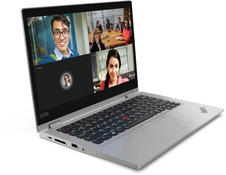 Lenovo ThinkPad Yoga L13, stříbrná + dotykové pero