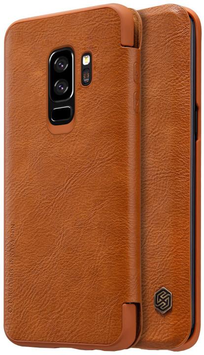 Nillkin Qin Book pouzdro pro Samsung G965 Galaxy S9 Plus, Brown