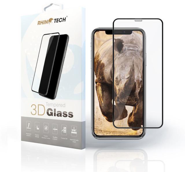 RhinoTech 2 Tvrzené ochranné 3D sklo pro Apple iPhone 6 Plus/6S Plus, bílé (včetně instalačního rámečku)