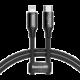 BASEUS kabel Yiven Series USB-C - Lightning, M/M, 2A, 1m, černá