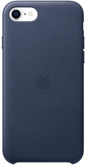 Apple kožený kryt na iPhone SE (2020), půlnočně modrá