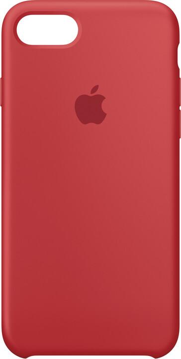 Apple Silikonový kryt na iPhone 7/8 – (PRODUCT) RED