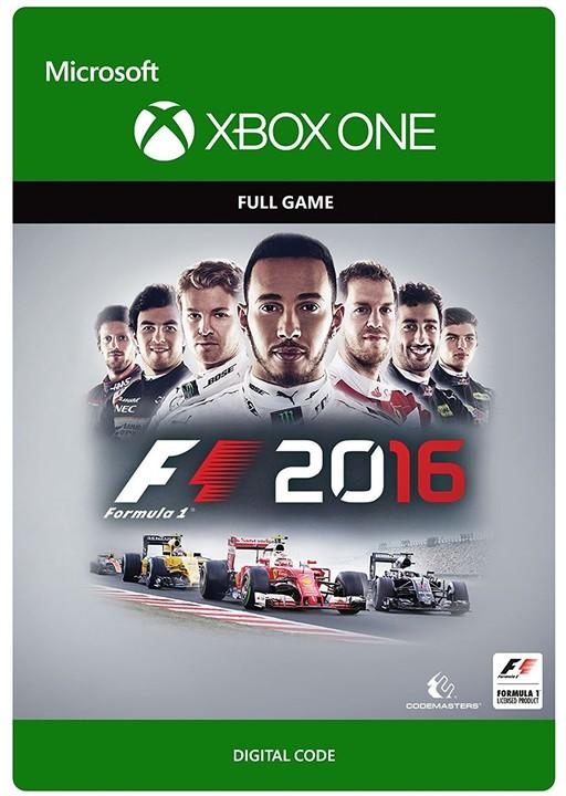 F1 2016 (Xbox ONE) - elektronicky