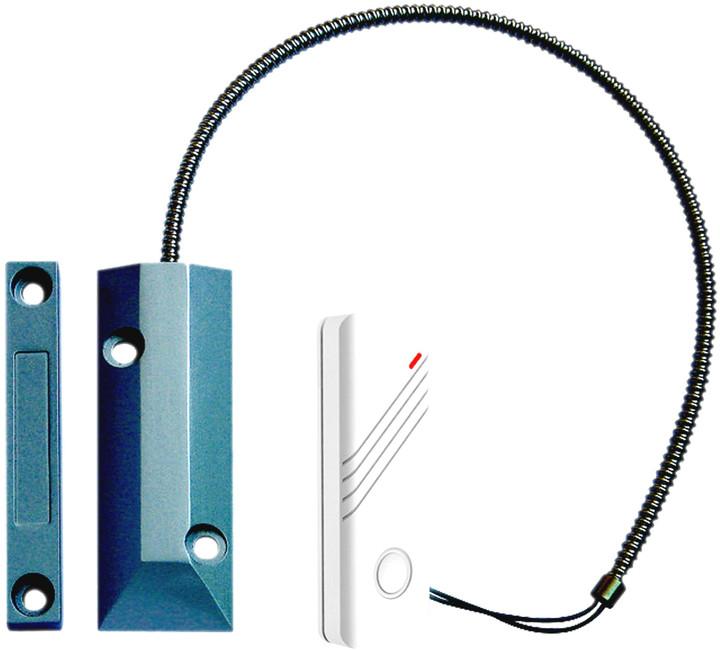 iGET SECURITY P21 - bezdrátový magnetický detektor pro zelezna vrata, dvere, okna